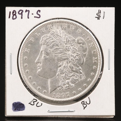Better Date 1897-S Morgan Silver Dollar