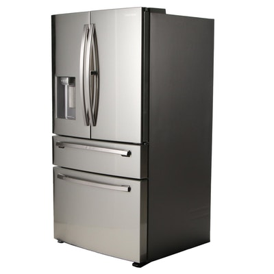 Samsung Stainless Steel 27.8 Cu. Ft. 4-Door Refrigerator with Food Showcase