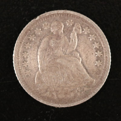 1854-O Liberty Seated Silver Half Dime