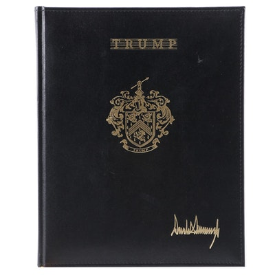 Donald Trump 2005 Executive Desk Planner