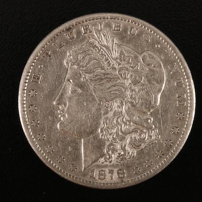 Key Date 1878-CC Morgan Silver Dollar