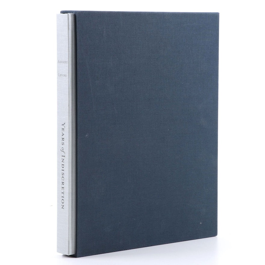 """Signed Limited Edition """"Years of Indiscretion"""" by John Ashbery, 2011"""