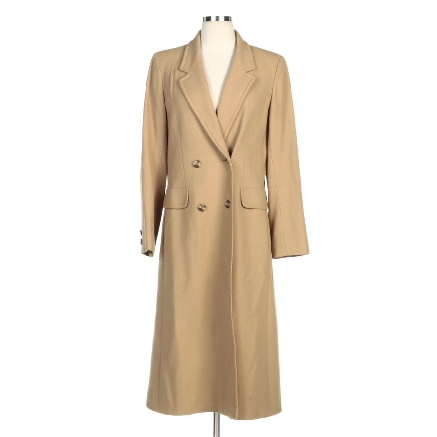 Union Made Créations Miss Style Double-Breasted Wool Coat