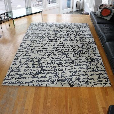 """6'6"""" x 10' Nanimarquina Handmade Wool Area Rug"""