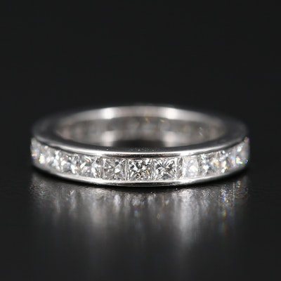 Cartier Platinum 2.70 CTW Diamond Eternity Band