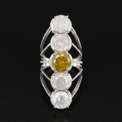 14K 10.48 CTW Diamond Ring