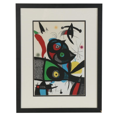 "Giclée after Joan Miró from ""Oda a Joan Miró,"" Late 20th Century"