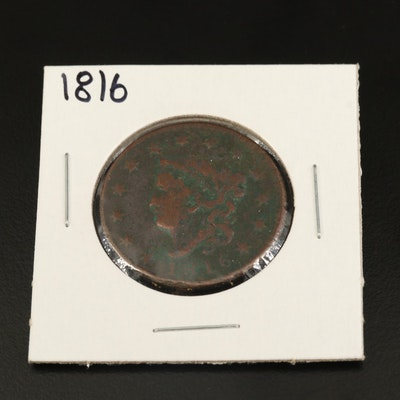 1816 Matron Head Large Cent