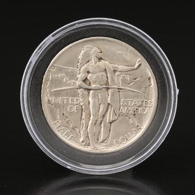 1926 Oregon Trail Commemorative Silver Half Dollar