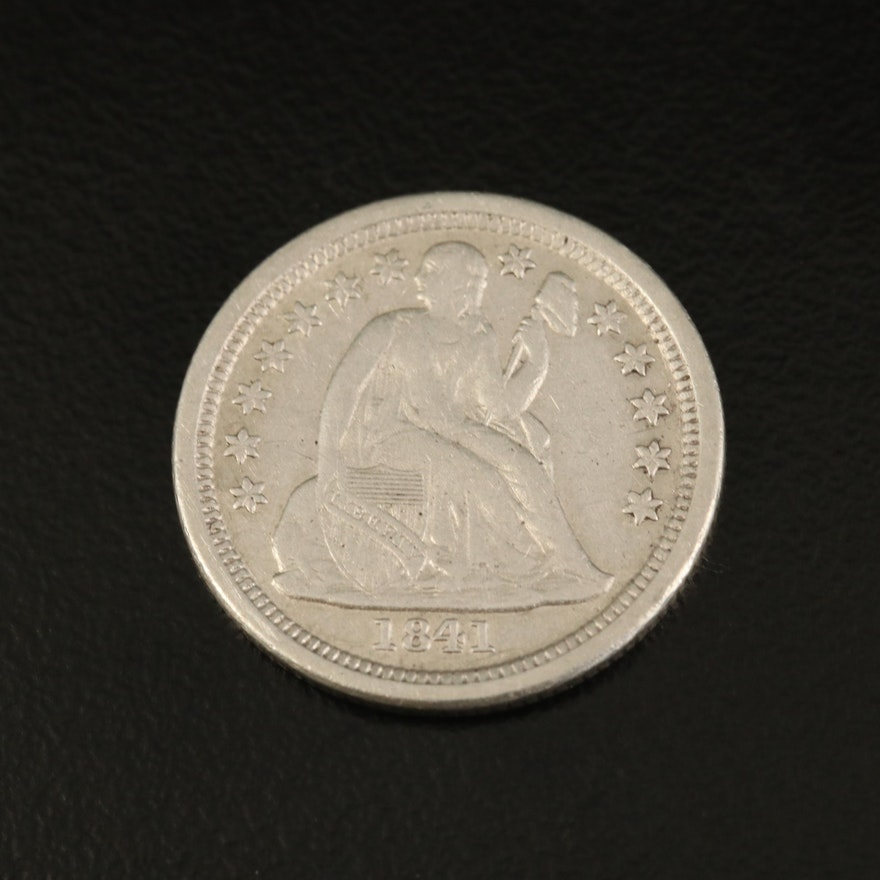 1841-O Liberty Seated Silver Dime