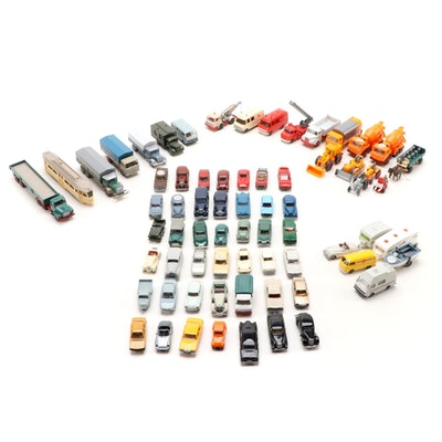 Wiking HO Scale Cars, Trucks and Farm Vehicles