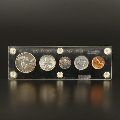 1961 U.S. Mint Silver Proof Set