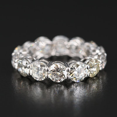 14K 7.61 CTW Diamond Eternity Band