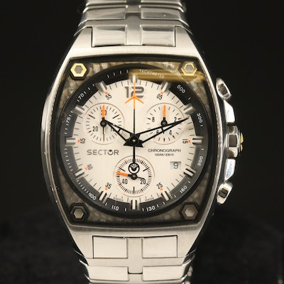 Sector 500 Chronograph Stainless Steel Quartz Wristwatch