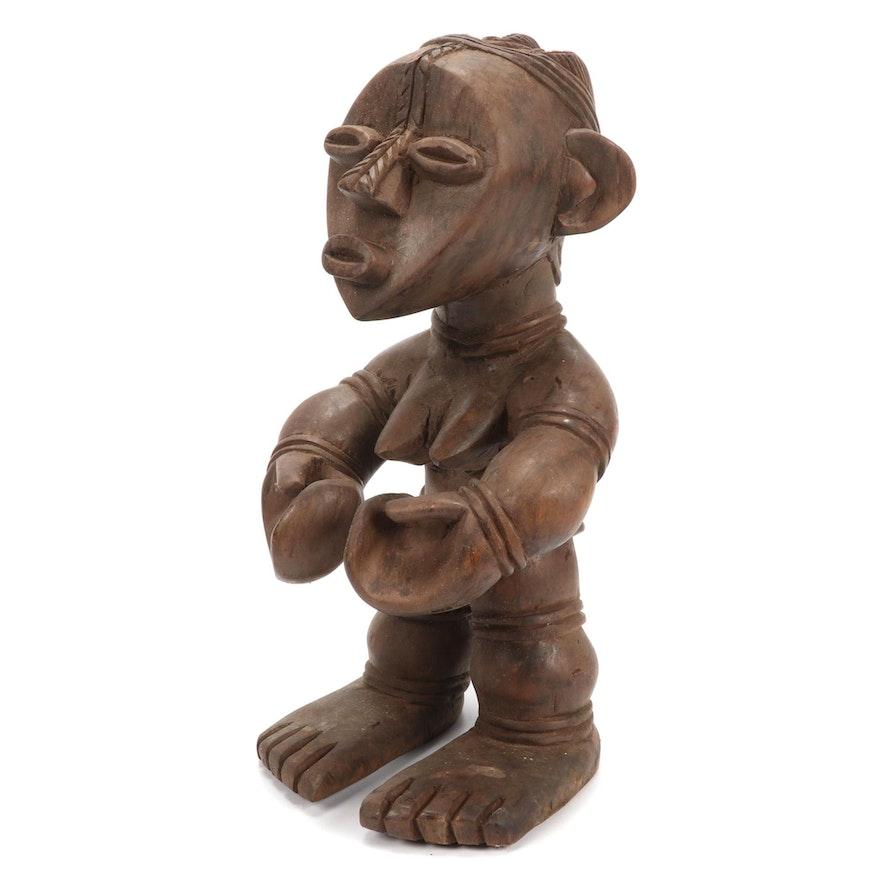 Mambila Inspired Wooden Figure, Africa
