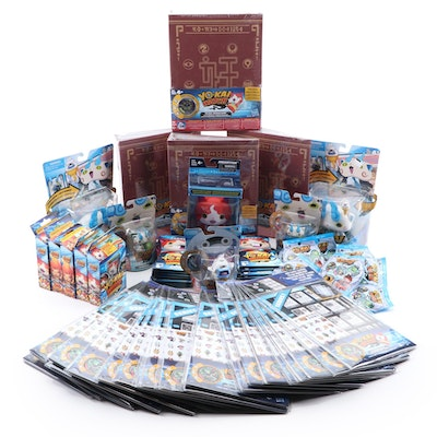 """Hasbro """"Yo-Kai"""" Watch Action Figures, Trading Cards, and Books in Packaging"""