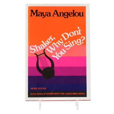 "First Edition ""Shaker, Why Don't You Sing?"" by Maya Angelou, 1983"