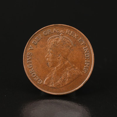 1921 Canadian 1-Cent Coin