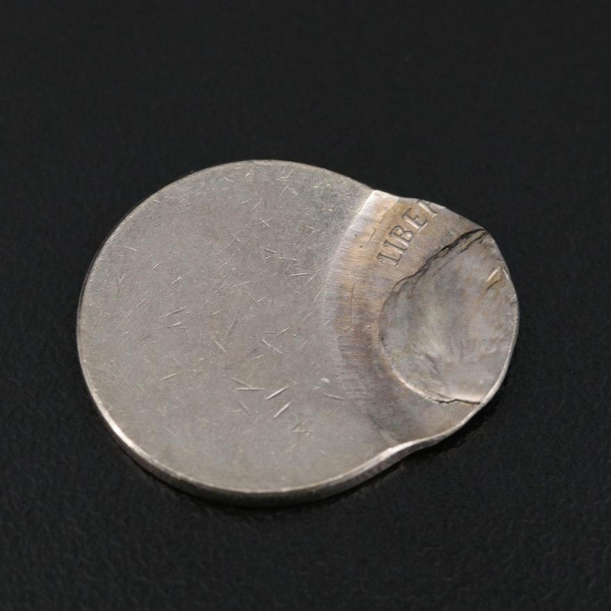 Jefferson Nickel Off-Center Error Coin