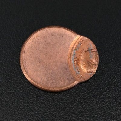Lincoln Cent Off-Center Error Coin