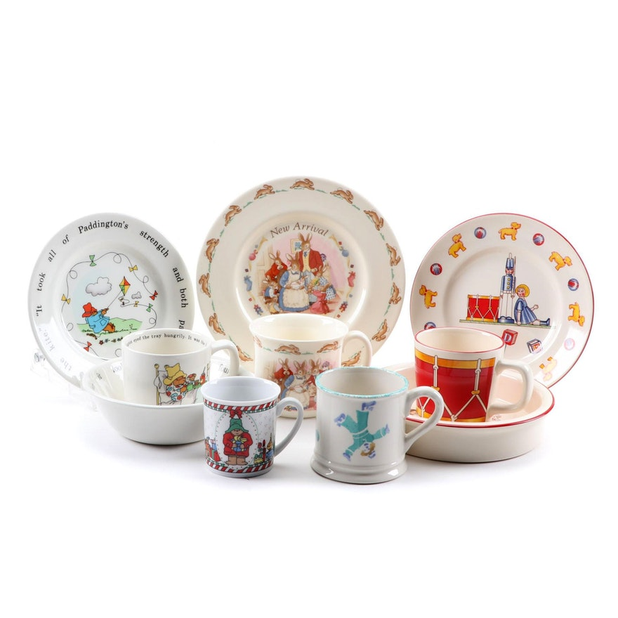 """Tiffany & Co., Royal Doulton """"Bunnykins"""" and Other Children's Tableware"""
