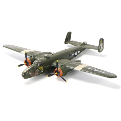 """Apache Princess"" WWII Era U.S. B-25 Mitchel Bomber Model, Late 20th C."