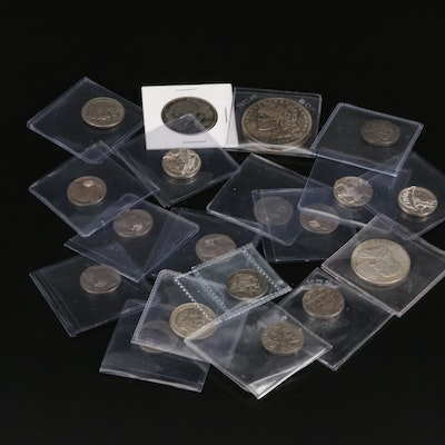 Twenty Different Hobo Style Coins Including Reproductions