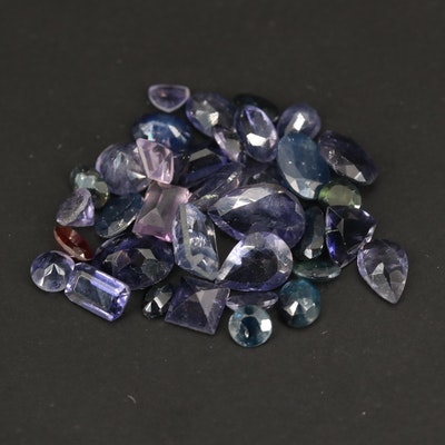 Loose 17.76 CTW Gemstones Including Sapphire, Amethyst and Iolite
