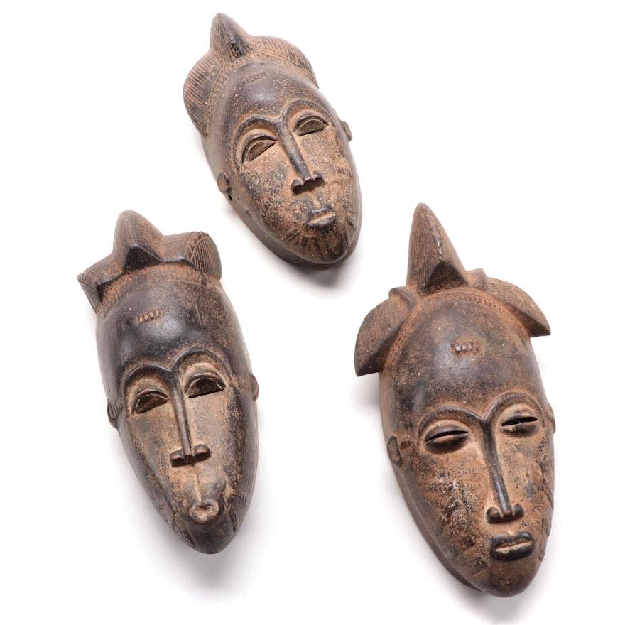 Baule Handcrafted Wood Masks, Côte d'Ivoire