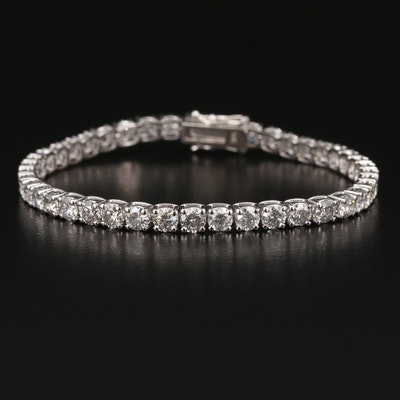 14K 9.44 CTW Diamond Line Bracelet