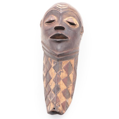 Pende Inspired Wooden Mask, Central African