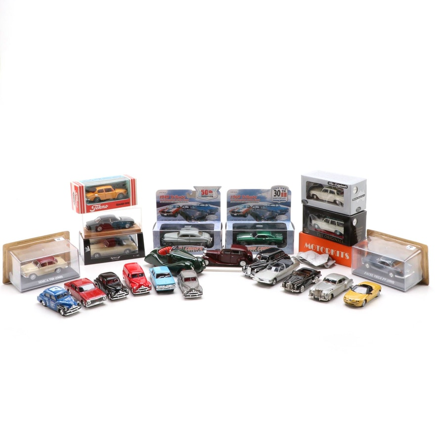 Schuco, Road Champs, and Tekno Diecast Cars and More