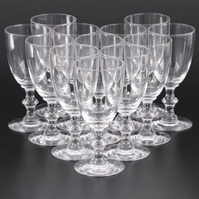 Hawkes Crystal Water Goblets