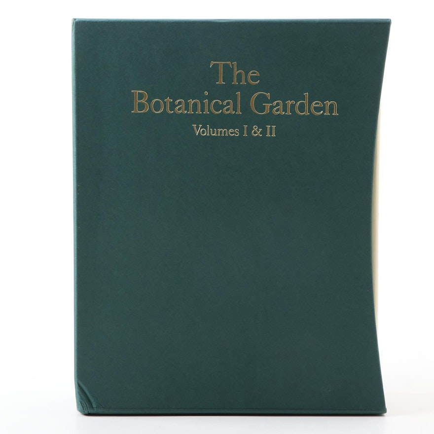 """The Botanical Garden"" Two-Volume Set by Roger Phillips and Martyn Rix, 2002"