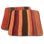Handwoven Afghan Kilim Face Throw Pillow Covers