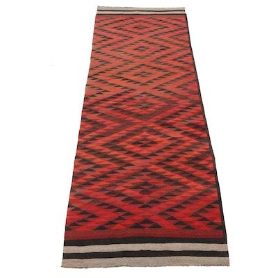 4'8 x 12'8 Handwoven Afghan Kilim Long Rug