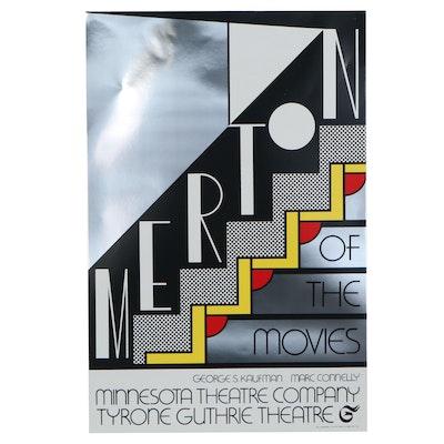 """Roy Lichtenstein Serigraph """"Merton of the Movies"""""""