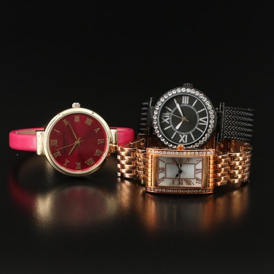 Collection of Fashion Quartz Wristwatches