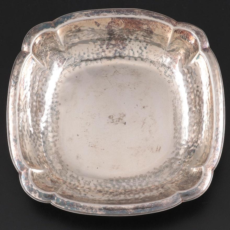 Kurz Gottlieb of Germany Hand Hammered 830 Silver Bowl, c. 1935