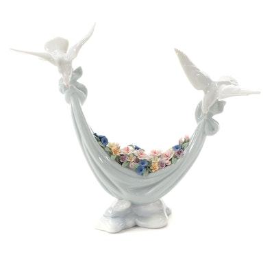 """Lladró """"Petals of Peace"""" Porcelain Figurine Designed by Antonio Ramos"""