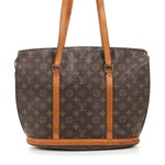 Louis Vuitton Babylone in Monogram Canvas and Vachetta Leather