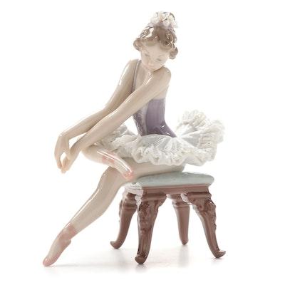 """Lladró """"Opening Night"""" Porcelain Figurine Designed by Salvador Debón"""