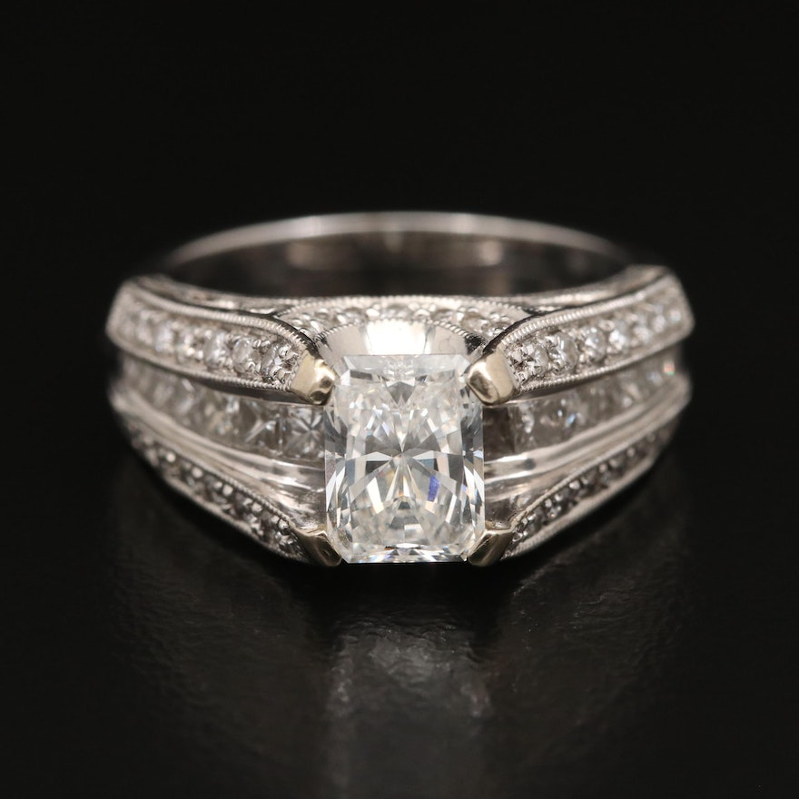 18K 2.21 CTW Diamond Ring