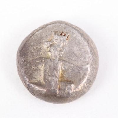 Ancient Archaemenid Empire, Persia AR Siglos Coin, ca. 455 B.C.