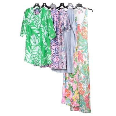 Lilly Pulitzer Patterned Print Sleeveless, Maxi, and Casual Dresses