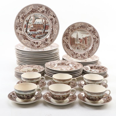 "Johnson Bros. ""Historic America"" Thanksgiving and Other Dinnerware, 1930–1974"