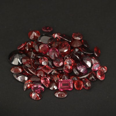 Loose 53.86 CTW Faceted Garnets