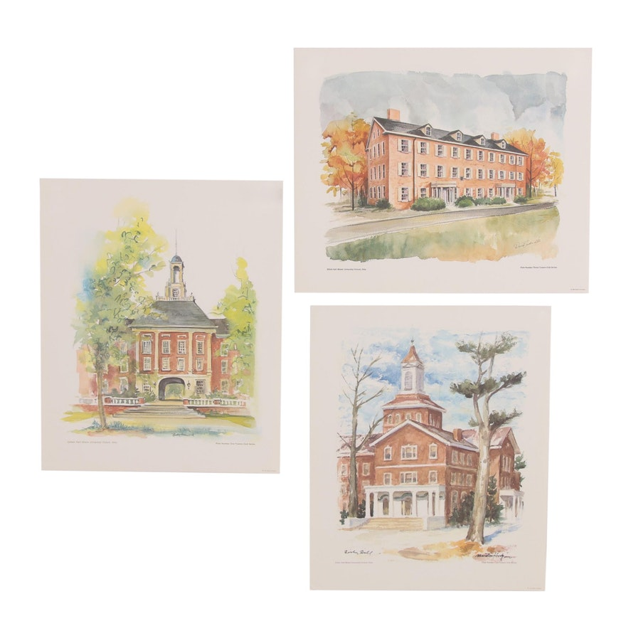 Offset Lithographs after Betty Howard, David Frederic, and Marston Hodgin