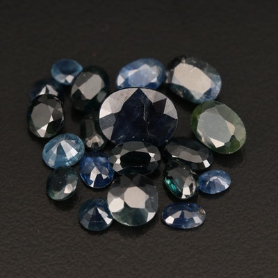 Loose 13.06 CTW Faceted Sapphire