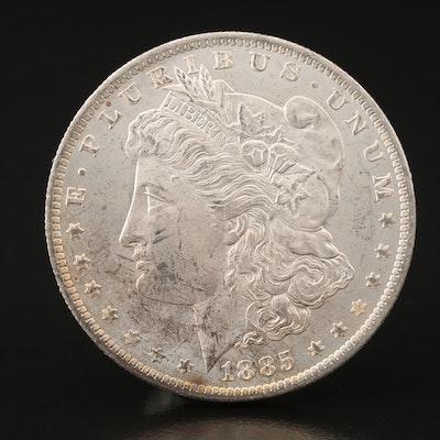 1885-O Morgan Silver Dollar